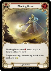 Blinding Beam (Red) - Rainbow Foil - Unlimited Edition