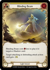 Blinding Beam (Yellow) - Rainbow Foil - Unlimited Edition