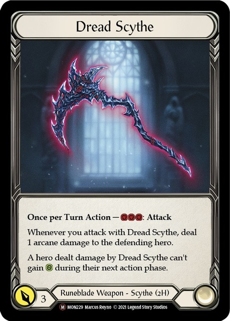 Dread Scythe - Unlimited Edition