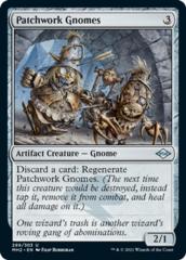 Patchwork Gnomes - Foil Etched