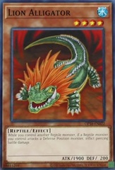 Lion Alligator - OP16-EN022 - Common - Unlimited Edition