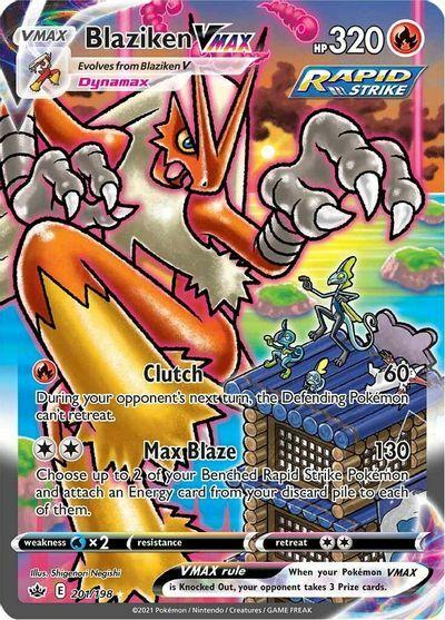 Blaziken VMAX - 201/198 - Secret Rare