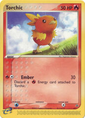 Torchic - 17 - Non-holo Target snack bar promotion