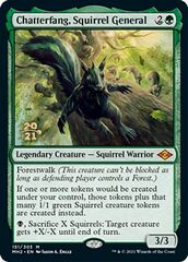 Chatterfang, Squirrel General - Foil - Prerelease Promo