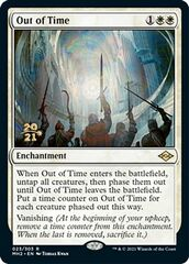 Out of Time - Foil - Prerelease Promo
