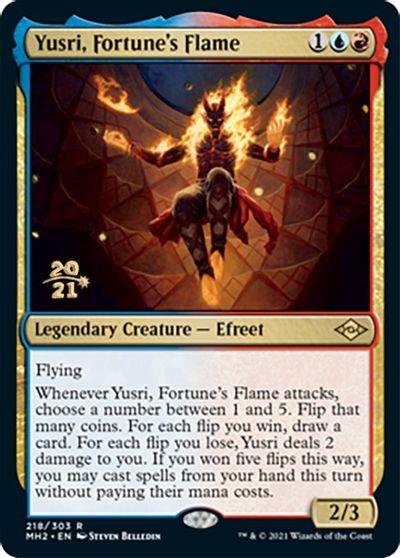 Yusri, Fortunes Flame - Foil - Prerelease Promo