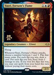 Yusri, Fortune's Flame - Foil - Prerelease Promo