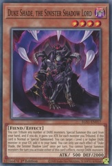 Duke Shade, the Sinister Shadow Lord - EGS1-EN017 - Common - 1st Edition