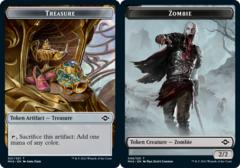 Treasure Token (021) // Zombie Token - Foil