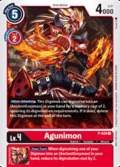 Agunimon - P-029 - P - Foil (Great Legend Power Up Pack)