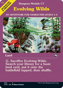 Evolving Wilds - Dungeon Module