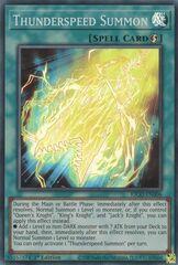 Thunderspeed Summon - KICO-EN006 - Super Rare - 1st Edition