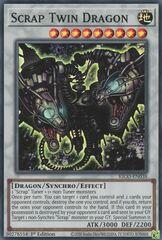 Scrap Twin Dragon - KICO-EN038 - Super Rare - 1st Edition