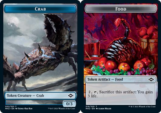 Crab Token // Food Token (018)