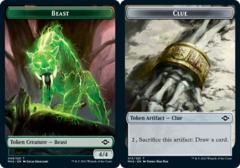 Beast Token // Clue Token (015)
