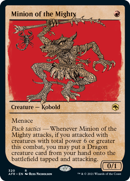 Minion of the Mighty - Showcase