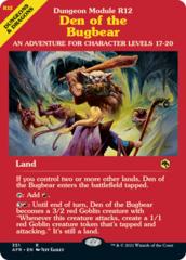 Den of the Bugbear - Dungeon Module