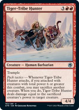 Tiger-Tribe Hunter