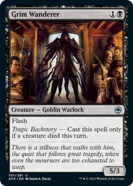Grim Wanderer - Foil
