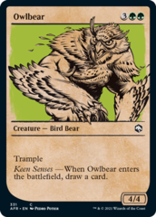 Owlbear - Foil - Showcase