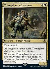 Triumphant Adventurer - Foil