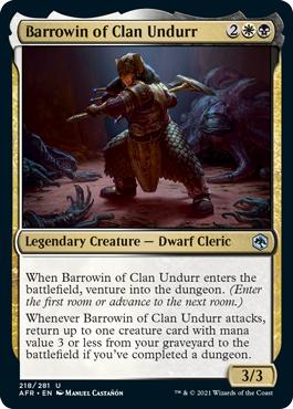 Barrowin of Clan Undurr - Foil