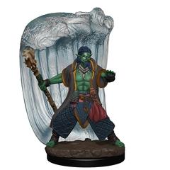 D&D Premium Painted Figure: W6 Water Genasi Druid Male