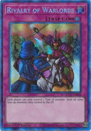 Rivalry of Warlords - KICO-EN058 - Collectors Rare - 1st Edition