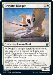 Dragon's Disciple - Foil