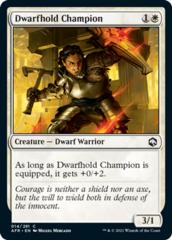 Dwarfhold Champion