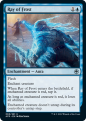 Ray of Frost - Foil