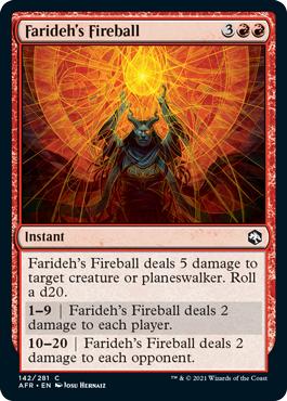 Faridehs Fireball