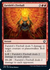 Farideh's Fireball - Foil