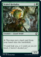 Scaled Herbalist - Foil