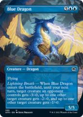 Blue Dragon - Borderless