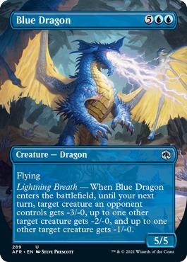 Blue Dragon - Foil - Borderless