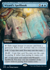 Wizard's Spellbook - Extended Art