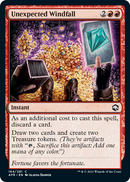 Unexpected Windfall - Foil