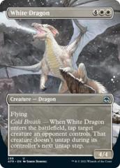 White Dragon - Borderless