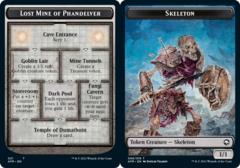 Lost Mine of Phandelver // Skeleton Token - Foil