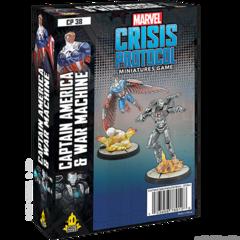Marvel: Crisis Protocol - Captain America & Warmachine