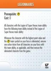 - #F004 Legionnaires