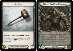Anothos // Rhinar, Reckless Rampage