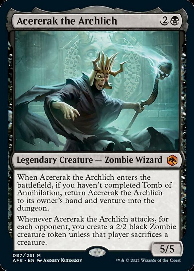 Acererak the Archlich - Foil