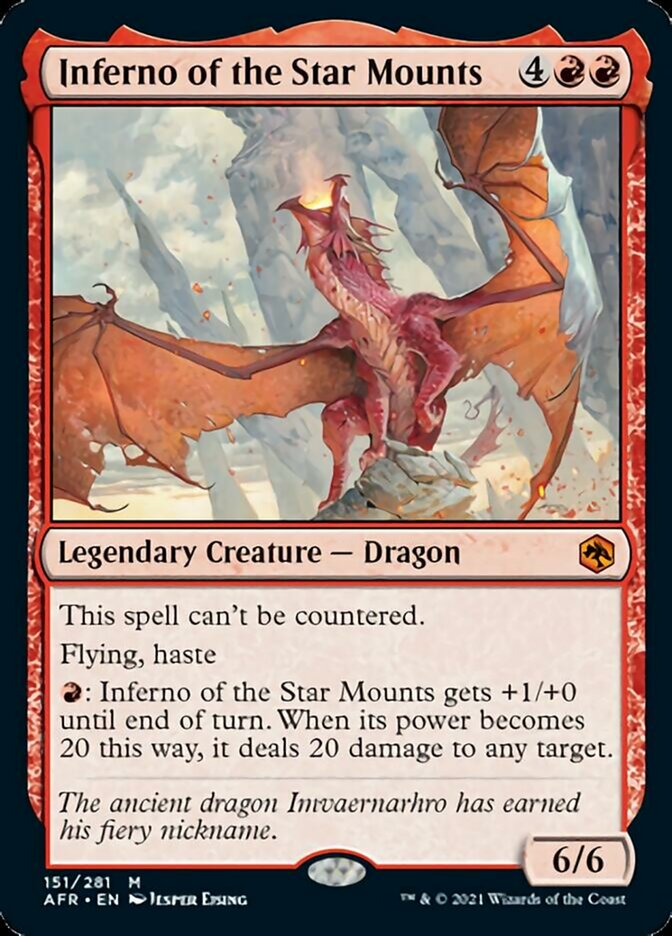 Inferno of the Star Mounts - Foil