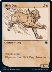Blink Dog - Foil - Showcase