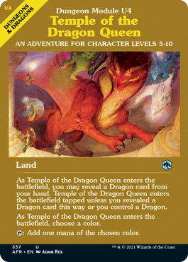 Temple of the Dragon Queen - Foil - Dungeon Module