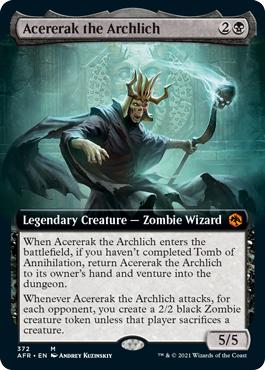 Acererak the Archlich - Foil - Extended Art