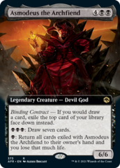 Asmodeus the Archfiend - Extended Art