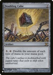 Doubling Cube - The List